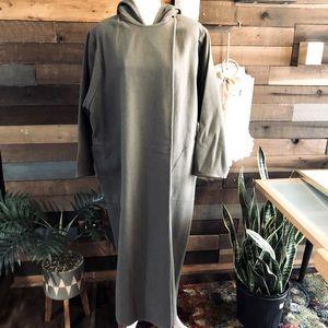 YEOHLEE Oversized Hooded Wrap Trench Coat Sz M